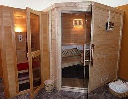 Saunabereich im Haus