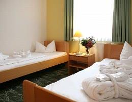 Doppelzimmer mit Twinbetten
