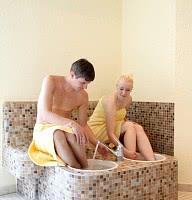 Sauna / Kneipp Fußdusche