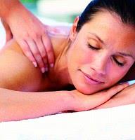 Aromarückenmassage