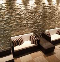 Poolbereich / Sitzecke