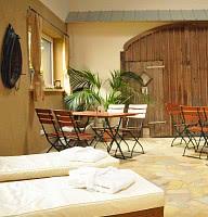 Ruhe- und Saunabereich