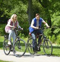 Radfahren durch die bayerische Toskana