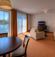 Appartement am See - Wohnbeispiel