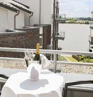 Balkon Wellness-Suite Niederrhein