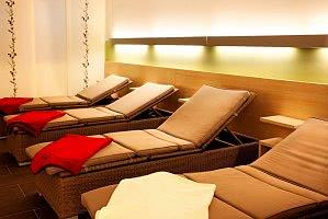Ruhe und Entspannung finden Sie im Relaxbereich