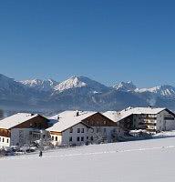 Winter-Märchenlandschaft