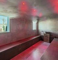 Dampfbad mit Tageslicht