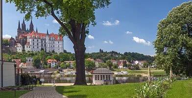 Blick auf Albrechtsburg