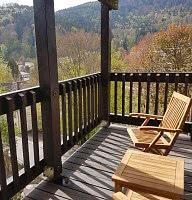 Blick vom Zimmer Balkon