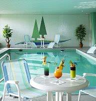 Entspannen im Schwimmbad