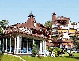 Hotel Gartenseite