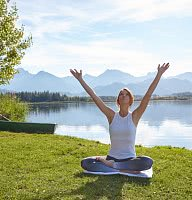 Yoga am Hopfensee