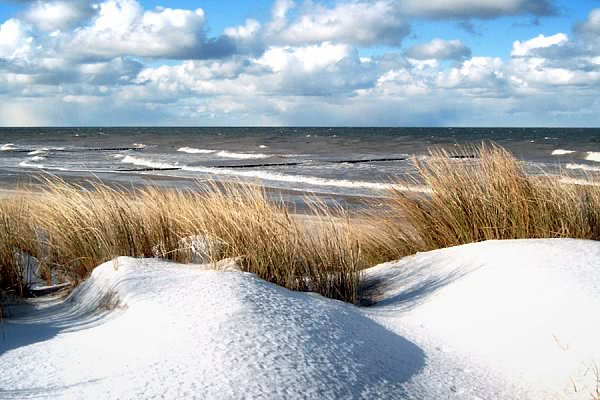 Frische Brise an der Ostsee
